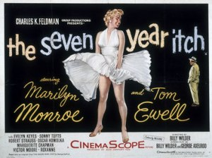 No, not the movie, although I'd love to look as fabulous as Marilyn!